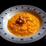 Vellutata di finocchi e carote al cumino