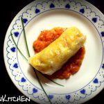 Involtini di verdure al curry con chutney di pomodoro
