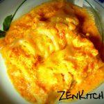 Involtini ripieni di tofu e ceci in salsa di curry e cocco