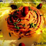 Fagioli kidney in crema su rosti di patate e topinambur