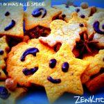 I biscotti di mais alle spezie e frutta secca