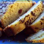 Plumcake di amaranto, nocciole,mirtilli