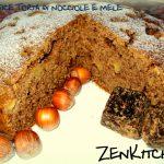 Soffice torta alle nocciole e mela
