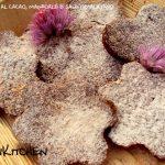 Biscotti al cacao, mandorle e sale himalayano