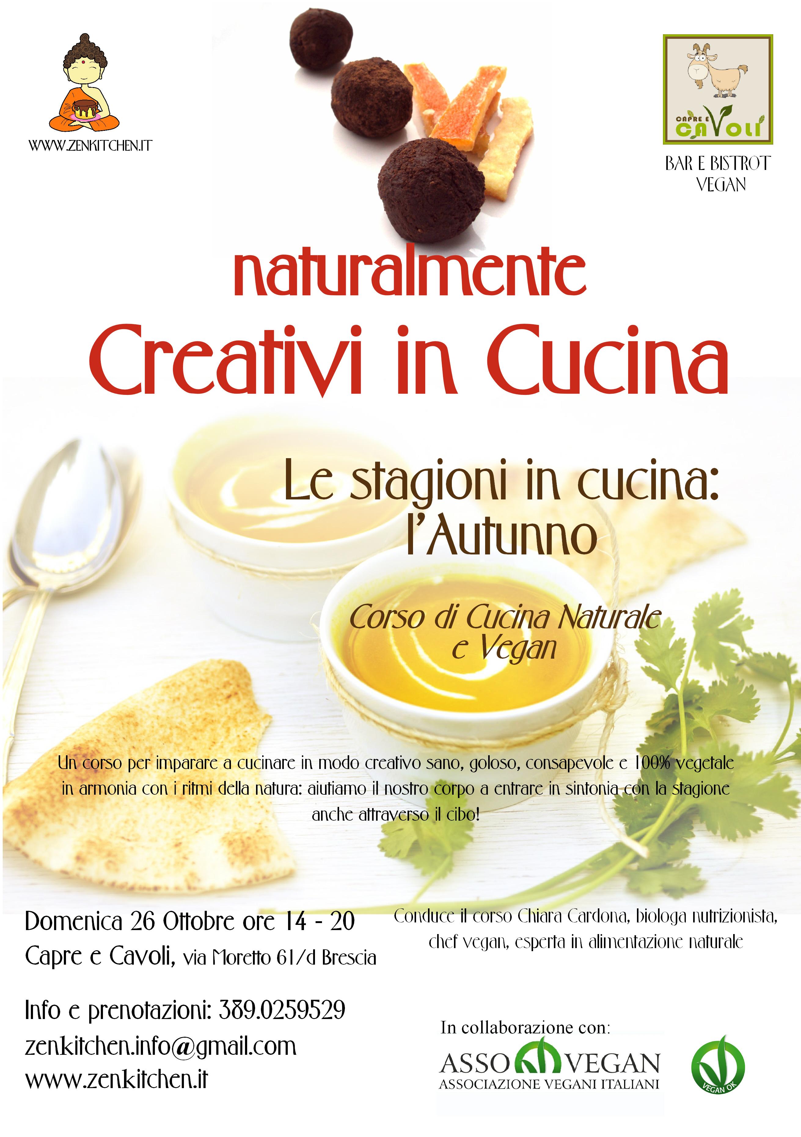 Zenkitchen le stagioni in cucina l autunno corso di - Corsi cucina brescia ...