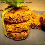 Burger di grano saraceno, lenticchie gialle e nocciole