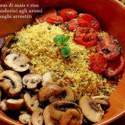 cous cous funghi pomodorini