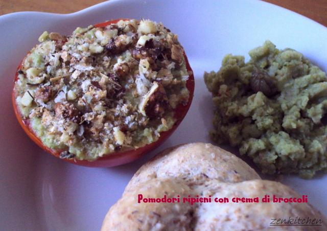 """Pomodori """"verdi"""" gratinati"""
