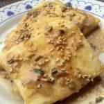 Tofu al tahin
