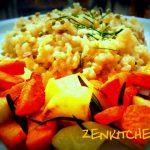 Daikon e carote al rosmarino
