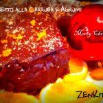 Tronchetto natalizio alla carruba e agrumi