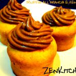 Muffin all'arancia e zenzero