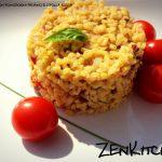 Bulgur con pomodorini pachino e cipolle di rosse