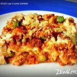 Le lasagne di Esaù e i funghi shiitake