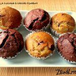 Muffin alle zucchine con cioccolato fondente
