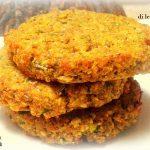 Burger di lenticchie rosse alla curcuma
